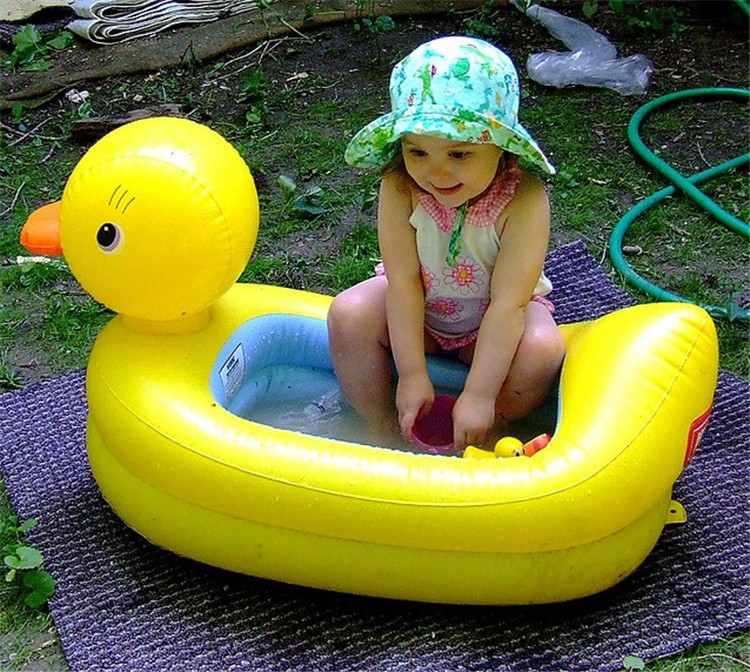 98*50*20cm Swimming Pools Baby Inflatable Cartoon Piscina Infant Swimming Pool Children Paddling Bath Pool Free Shipping S1037(China (Mainland))