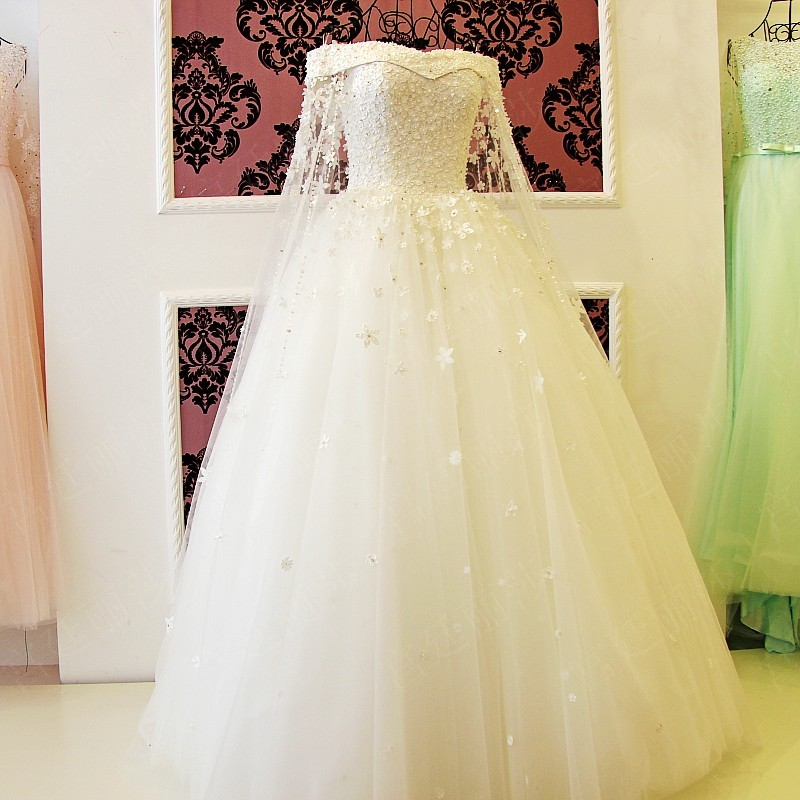 Wedding dresses asian wedding dresses yellow accents for Vintage wedding dresses san diego