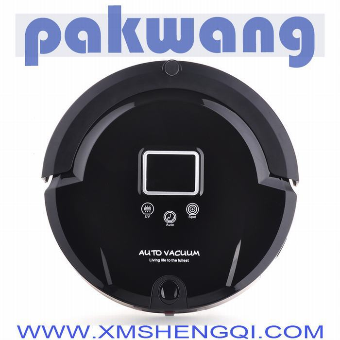 Automatic Vacuum Cleaner Mopping Function ,UV lights, Auto Recharged,Remote Controller,automatic vacuum cleaner(China (Mainland))