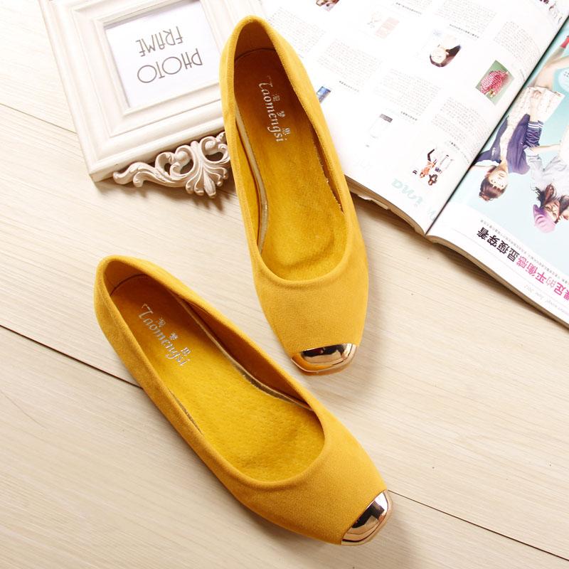 basic Flats for Women fashion dress shoes woman flat heels womens shoe 35-43<br><br>Aliexpress