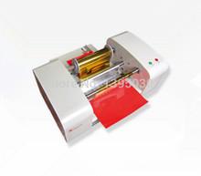 Free Shipping By DHL TJ-256 Digital Hot Foil Stamping Machine Gilding Flatbed Printer Press Machine(China (Mainland))