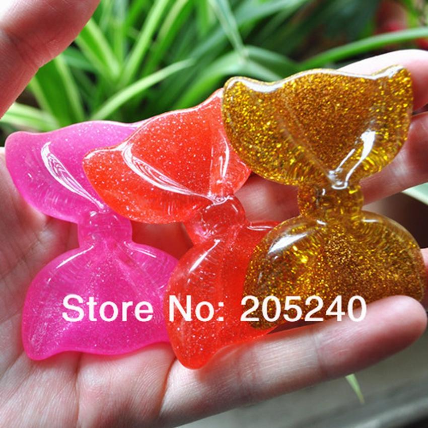 10pcs/Lot Mix Colors Bow Shape Flat Back Resin Cabochons Cute Botoes De Resina Cora Resin For DIY Phone Decoration(China (Mainland))