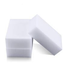 100pcs 100 x 60 x 10mm Magic Sponge Cleaner Super Decontamination Eraser (China (Mainland))