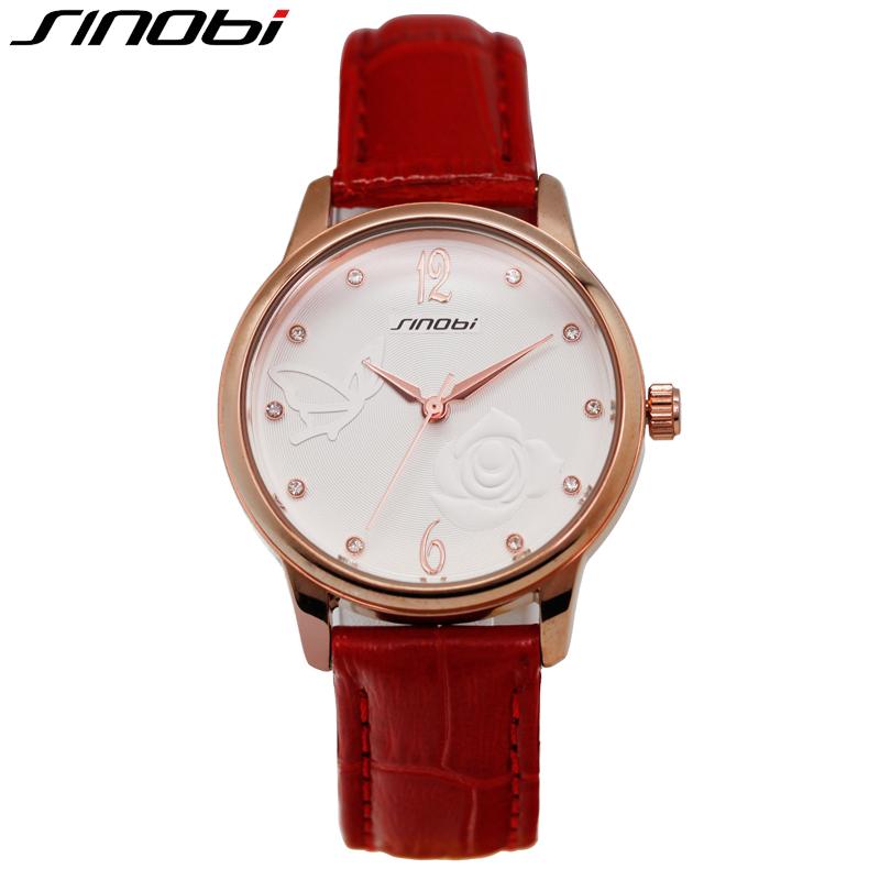 SINOBI Dress Women Quartz-watch High Quality Date Business Relogios Feminino Fashion Business Hardlex Female Wristwatch<br><br>Aliexpress