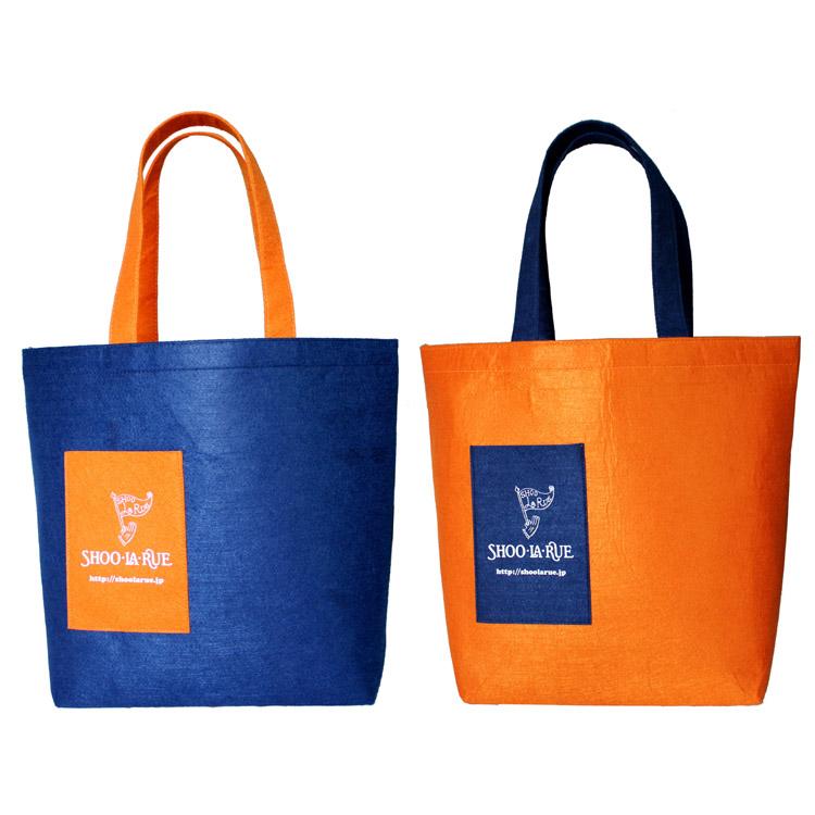 Japan Brand Multi-functional Orange And Blue Large Capital One Shoulder Fashion Women's Handbag Shopping Bag Reusable For Women(China (Mainland))