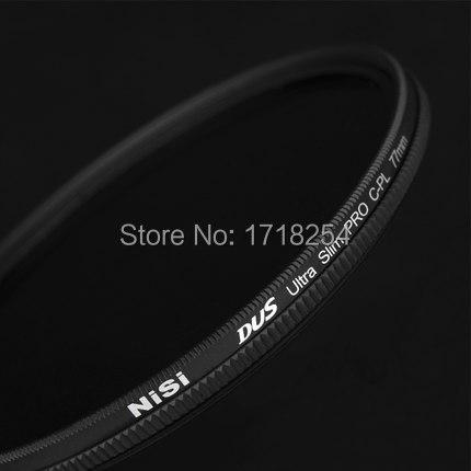 NiSi DUS Ultra 37mm Slim Circular Polarizer Polarising CPL Filter special thin-film technology(China (Mainland))