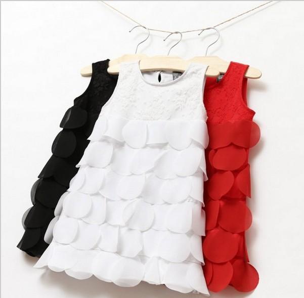 Free shipping Girls Lace Dress Summer Baby Dress Children Clothing Brand Kids Girls Clothes girl dress(China (Mainland))