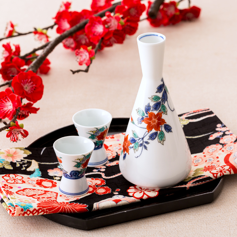 Tao fun in Japan imported high temperature porcelain with Japanese style and ceramic hand-painted painted glass jug no petals<br><br>Aliexpress
