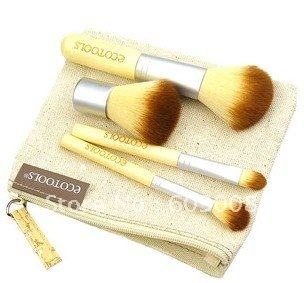 great discount 4pcs professional Makeup Brush Kit /The bamboo stalk environmental brush, 1makeup brush set