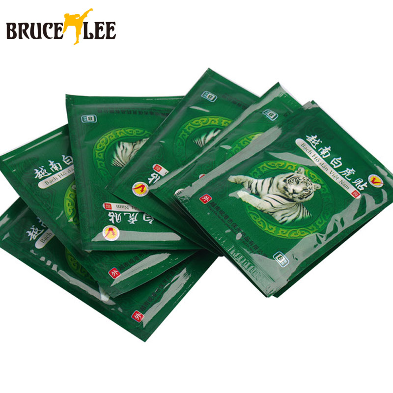 16pcs massage patch tiger herbs plaster patch back pain Chinese Medical Herbal Pain Relief Plaster arthritis shaolin acupuncture(China (Mainland))