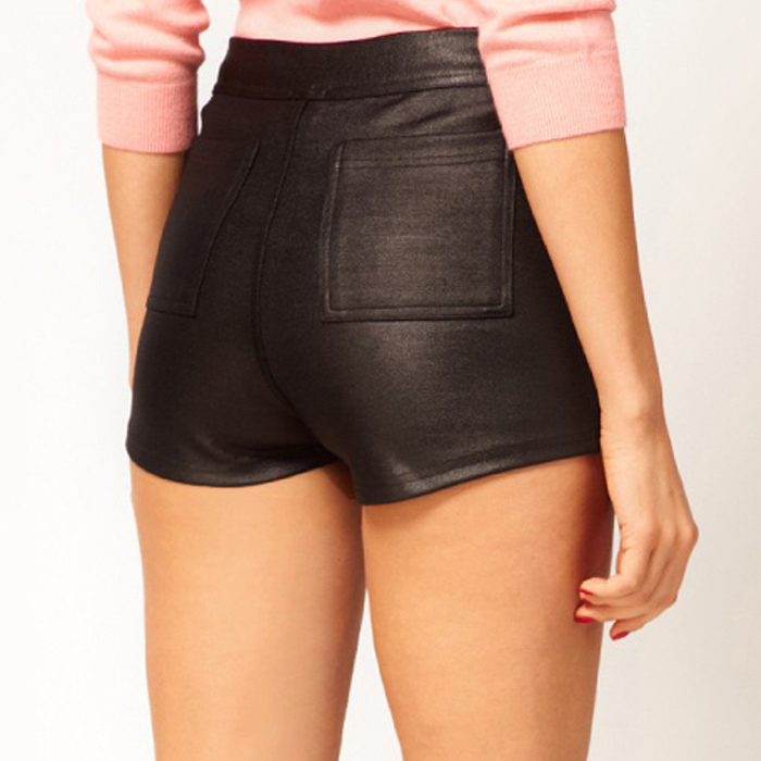 Women's high waisted shorts are in season at Express! We have a wide selection of on-trend high waisted women's shorts for every mood and occasion. If your style is casual-chic, try our Black High Waisted Denim Shorts paired with a graphic tee.