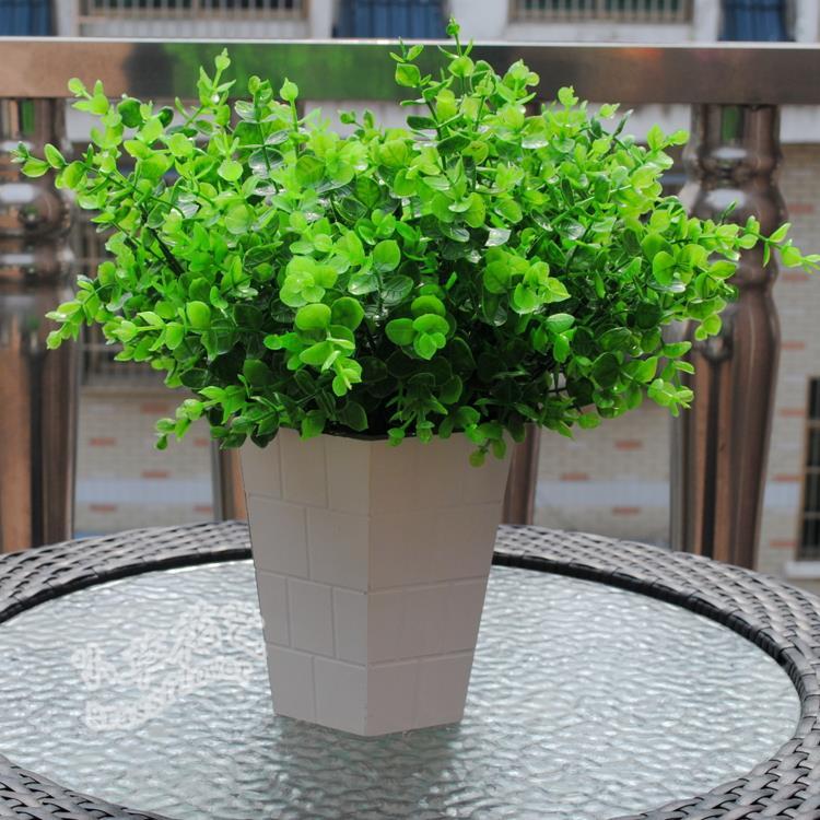 35cm Plastic Decorative Artificial Grass Living Room Home Wedding Decor Furnishings Plants