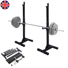Heavy Duty Gym Squat Barbell Power Rack Stand Adjustable Press Weight Bench(China (Mainland))