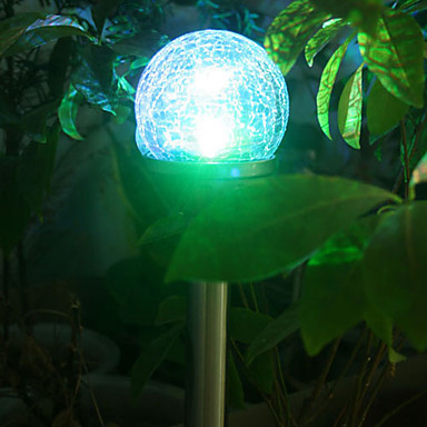 0.06W Stainless Steel LED Solar Garden Light  Lamp Outdoor , Solar Powered LED Lawn Light Free Shipping<br><br>Aliexpress