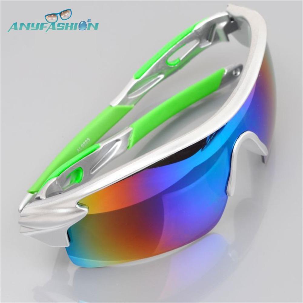 2016 Anyfashion Men Women Cycling Sun Glasses Outdoor Sports Bicycle Glasses Bike Sunglasses Goggles Eyewear Oculos Ciclismo(China (Mainland))