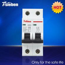 Завод прямых продаж C45 2 P 63A 230 / 400 В MCB автоматический выключатель марка выключатель