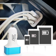 Buy Olaf Universal 2.1A 3 Port Mini USB Car Charger Fast Charge Mobile Phone Charger Samsung LG iphone5 6 7 plus HTC smartphone for $1.49 in AliExpress store