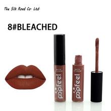 Brand Lipstick Moisturizer Long Lasting Waterproof Matte Lipstick Nude Lip Stick Lipgloss Lip Balm Batom Pintalabios For Lips(China (Mainland))