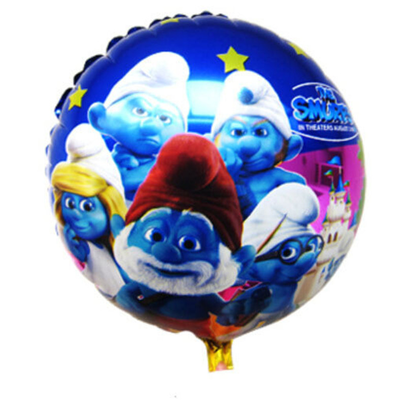 Free shipping 5pcs / lot Cartoon Happy Birthday balloon  Party Supplies car helium baloons<br><br>Aliexpress