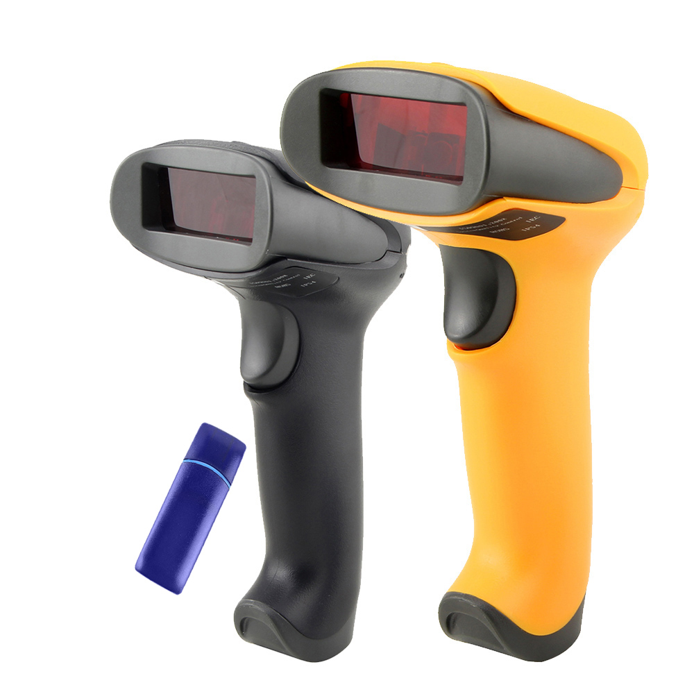 Wireless Laser Barcode Scanner Long Range Cordless Bar Code Reader for POS and Inventory - NT-2028(China (Mainland))