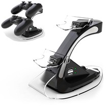 Dual USB Charger Docking Station Stand Controller Game For Sony PlayStation 4 PS4 Wireless Game Controller