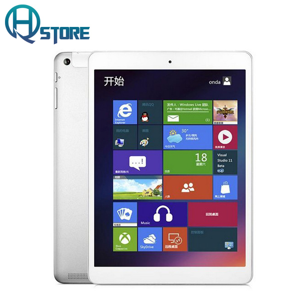 Original Onda V975w Tablet PC 9.7 Inch 2048*1536 Intel Z3735F Quad Core 2GB 32GB Windows8.1 HDMI Bluetooth(China (Mainland))