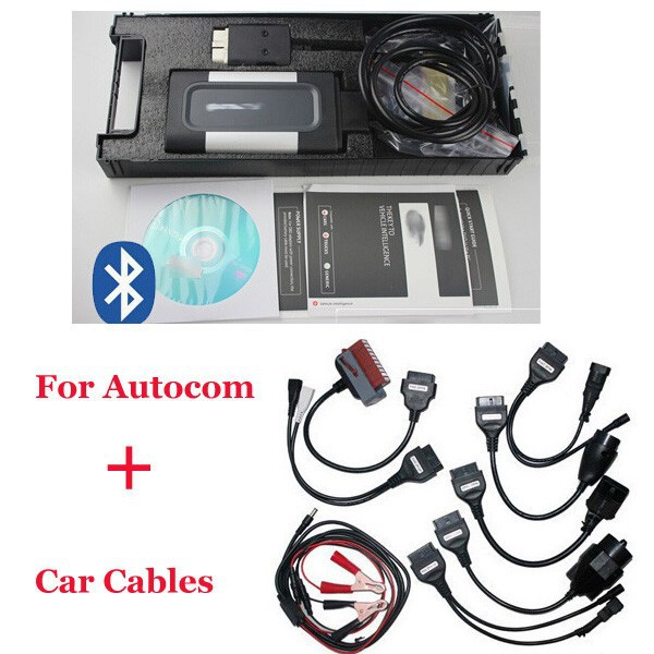 2016 Quality FOR AUTOCOM CDP Pro cars & trucks(Compact Diagnostic Partner) OKI CHIP full set cables