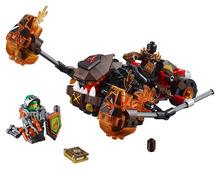 LEPIN Nexo Knights Moltor's Lava Smasher Combination Marvel Building Blocks Kits Toys Minifigures Compatible Legoe Nexus - Cy Super store