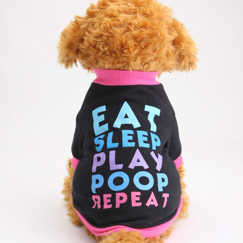 Print dog tuxedo clothes pet T-shirt vest coat jacket cloth costumes funny small puppy clothing summer spring impermeable perro(China (Mainland))