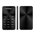 Arabic Greek Bluetooth dialer music mobile power bank mini Ultrathin card cell mobile phone P249