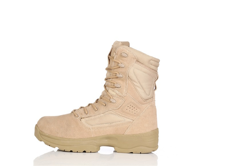 Selling2015 Men Military Boots Special Forces Tactical Desert Combat Boots Outdoor Army Hiking Travel Shoes Infantry Snow Boots(China (Mainland))