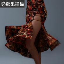 2016 Nouvelle Arrivée Standard Salle De Bal Robe Nouveau!! adulte Femmes Salle De Bal Valse Tango De Danse Latine Jupe Pleine Rose Très Unique Conception