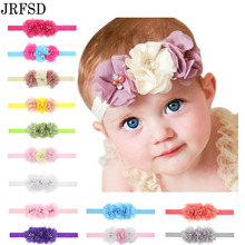 Buy JRFSD 1Pcs Hot Sell Headband 3 Flower Pearl Diamond Hair Bands Headbands Elasticity Kids Hair Accessories for $1.05 in AliExpress store