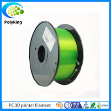 Green 1kg 1.75mm/3mm Tough PC Filament 3D Printer Filament For Selling