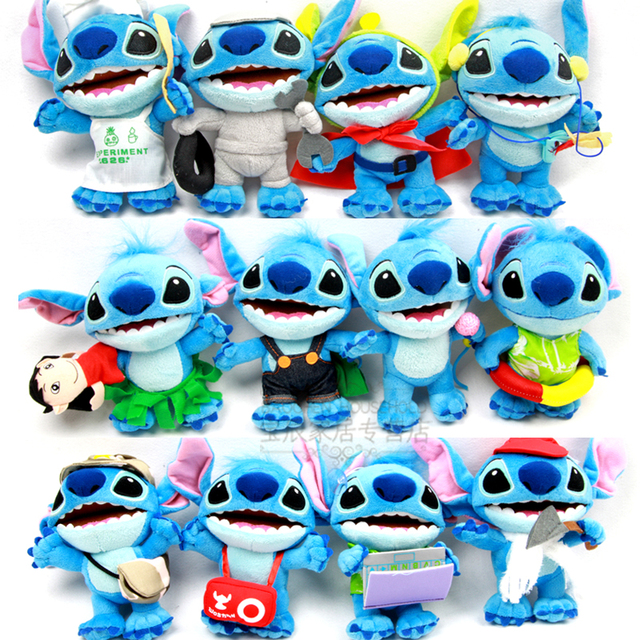 Stitch plush toy stitch doll pendant doll birthday gift schoolgirl