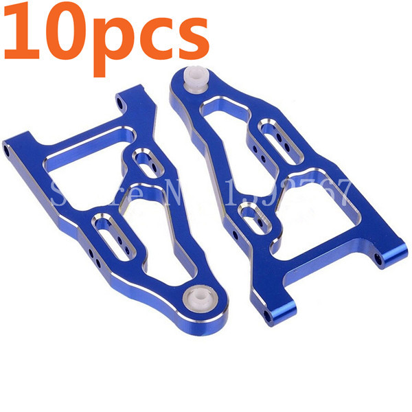 Wholesale 5Pairs/Lot HSP Upgrade 081019(81610) Front Lower Suspension Arm for 1/8 RC Car Nitro Power Off Road Monster Truck CNC(China (Mainland))