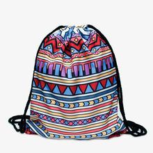 Aztec 3D printing Womens Men s Gym Bags Daypack Luggage Handbag mochila feminina bolso de lazo