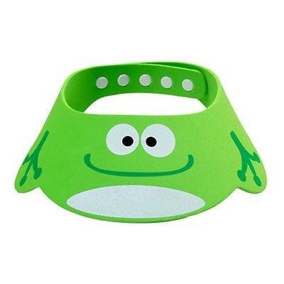 Kid Safe Shampoo Baby Soft Bath Shower Cap Hat Wash Hair Eye Shield Adjustable(China (Mainland))