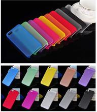 1PC Ultra-Thin 0.3MM Cover Bag Case For Apple Iphone 5 5s 6 6s 7 7plus Cases For iPhone5S 4 4s Mobile Phone Protection Shell-PP(China (Mainland))