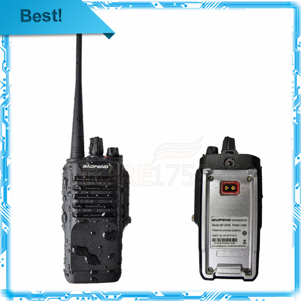 baofeng bf 9700 tv transmitter uhf 400 520mhz high range walkie talkie most power 8w dust and