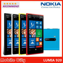 Original Refurbished Unlocked Nokia Lumia 920 Model RM-821 Windows Mobile Phone 3G/4G 8.7MP GPS WIFI Bluetooth Free Shipping(China (Mainland))