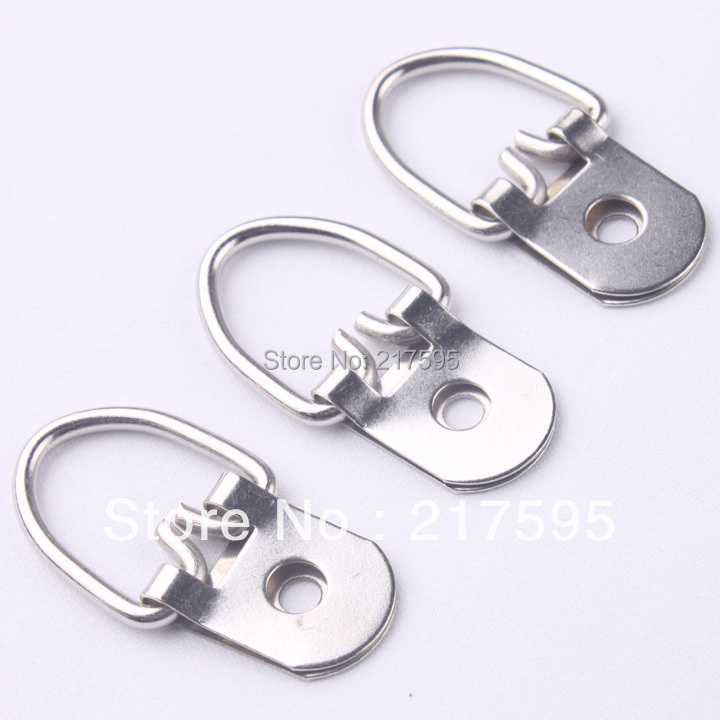 Hanging ring Silver color high quality single hole hardware picture frame hook(China (Mainland))