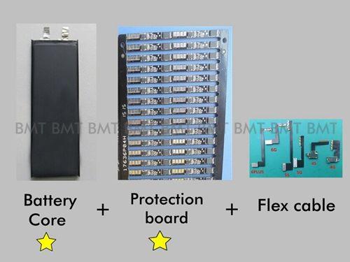 10pcs/lot Original Core Full capacity 1430mAh 3.7V Battery for iPhone 4S 0 zero cycle replacement repair parts BMTI4S0BTA