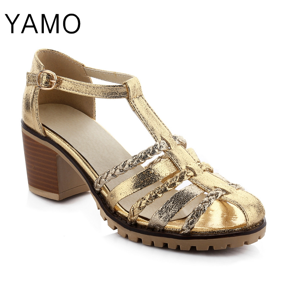 new fashion thick heel shoes leather oxford shoes