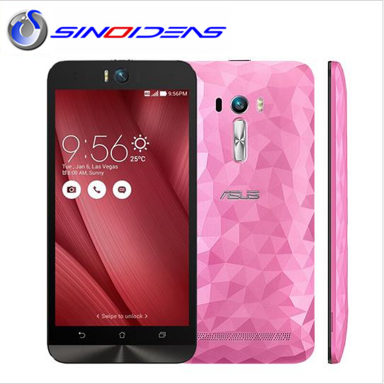 "originalAsus Zenfone Selfie 5.5"" ZD551KL 4G lte cell phone Dual 13.0 MP camera Snapdragon 615 octa core 3GB RAM smartphone"