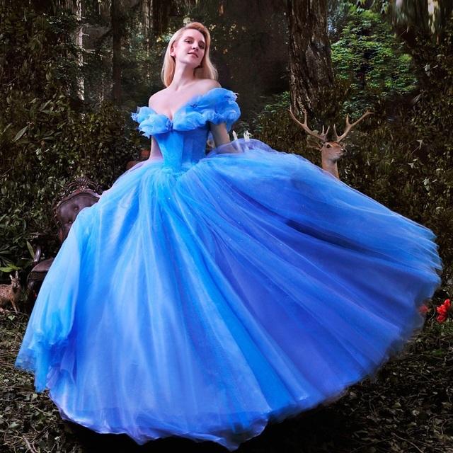2015 Nouveau Film Cendrillon Robe De Princesse Magnifique