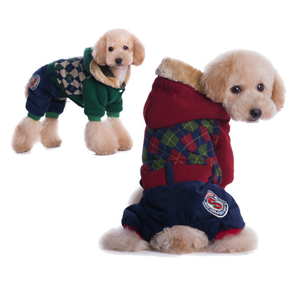 HOT Sales Christmas Pet Dog Clothes Clothing Dress gift Dog pet symbol of the school For Dog Love Coat Sweater(China (Mainland))