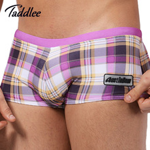 Taddlee Brand Men Swimwear 2016 New Summer Swim Boxer Shorts Trunks Swimming Briefs Surf Board Wear Mens Swimsuits Gay Beach Hot