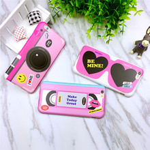 Camera tape For iphone 6s mobile phone shell protective sleeve all-inclusive 6plus silicone soft shell drop resistance