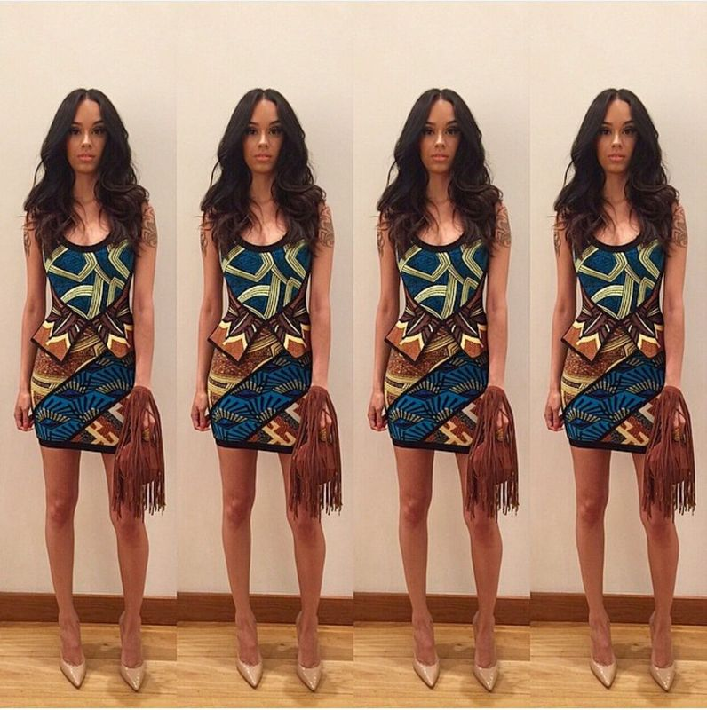 New Woman Dresses 2016 Summer Blue Geometric Jacquard Bandage Dress HL Rayon Wholesale Одежда и ак�е��уары<br><br><br>Aliexpress